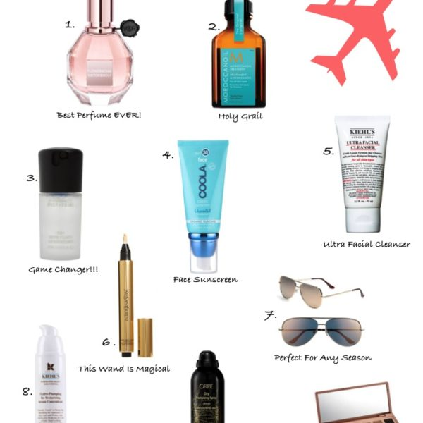 10 Items I Always Pack In My Travel Bag