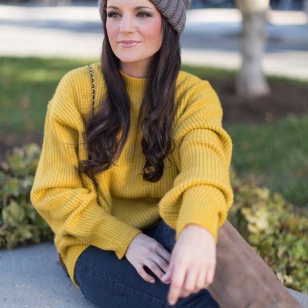 Most Amazing Yellow Sweater For Fall
