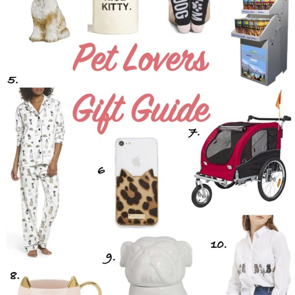 Gift Guide: For the Pet Lover – Holiday Edition