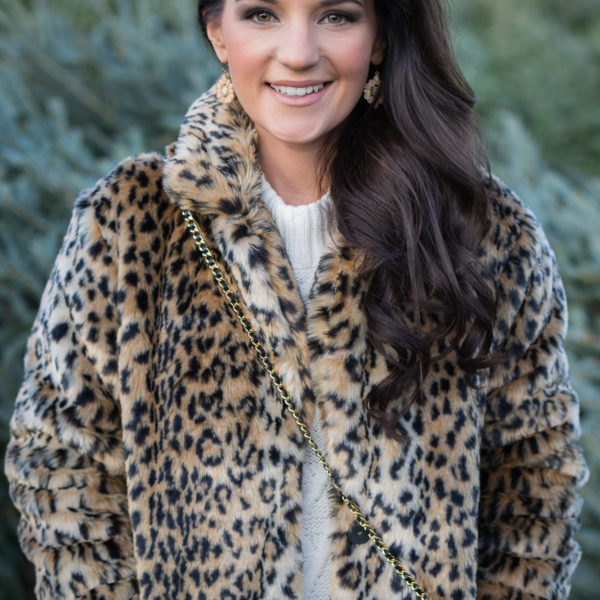 MUST Have Leopard Coat – Under $40!!!