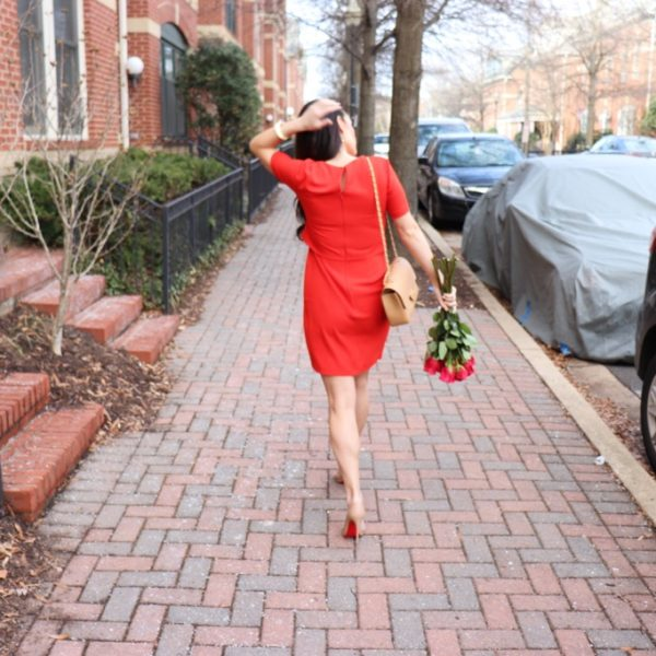 Valentine's Inspired Look + Dresses Under $100