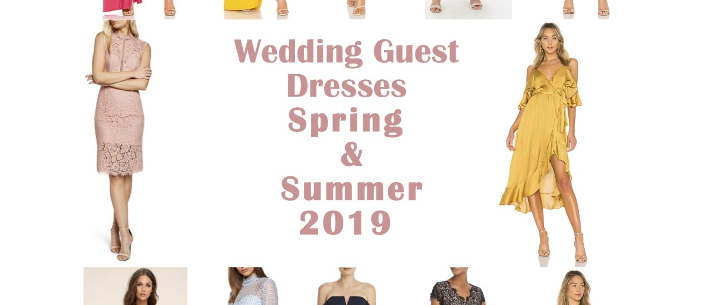 Wedding Guest Dresses Spring & Summer 2019
