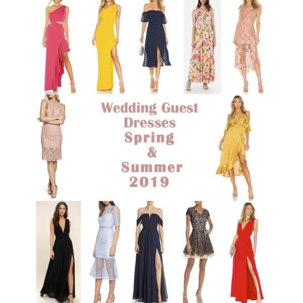 Wedding Guest Dresses Spring & Summer 2019