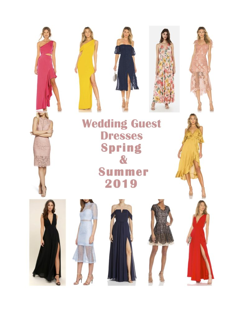 Spring Summer Wedding Guest Dresses 2019